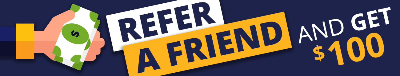 refer a friend to C&H Auto and receive 100 dollars